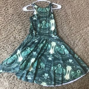 Black milk clothing dollar dress